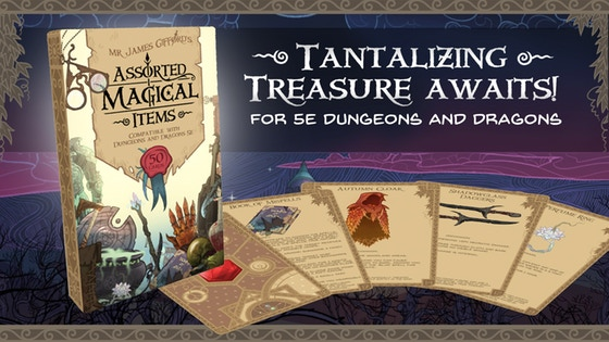 The Assorted Magical Items Deck