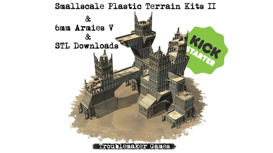 Smallscale Plastic Terrain Kits 2