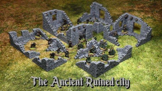The Ancient Ruined City
