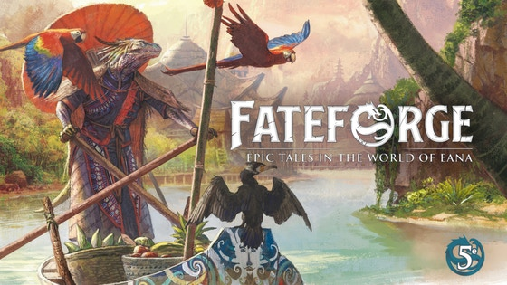 Fateforge: a 5th Edition Role-Playing Game