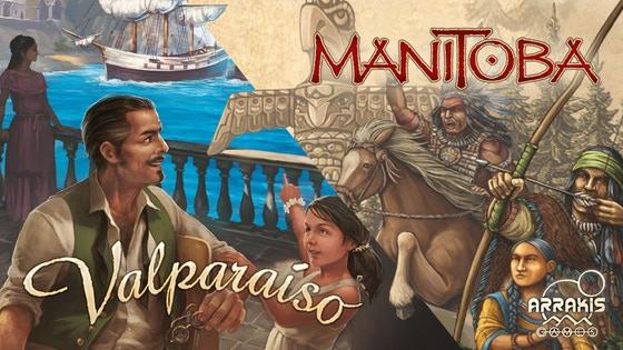 Manitoba y Valparaíso, en español por Arrakis Games