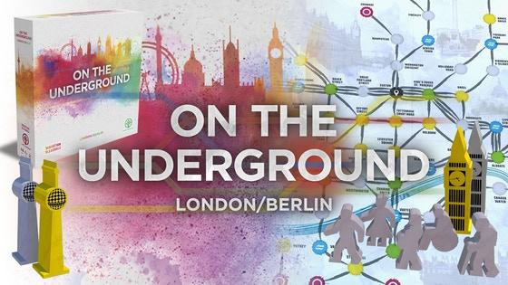 On the Underground: London / Berlin