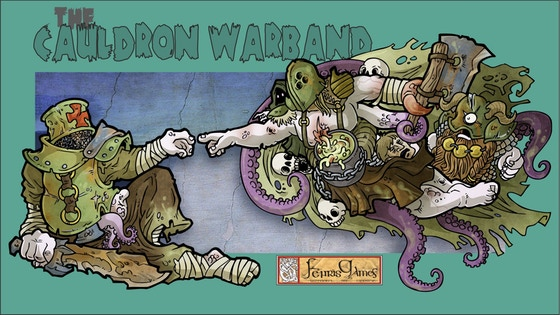 Fenris Games - The Cauldron Warband