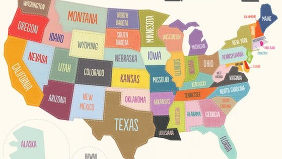 American US States Board Game
