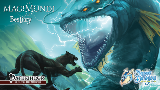 Magimundi Bestiary: New Monsters for 5e or Pathfinder
