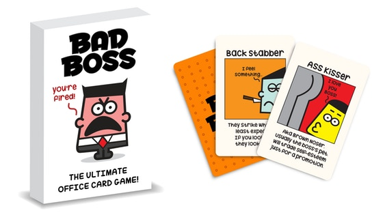 Bad Boss | The Card Game That Won't Get You Fired
