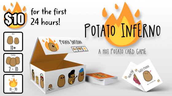 Potato Inferno! (A Hot Potato Card Game)
