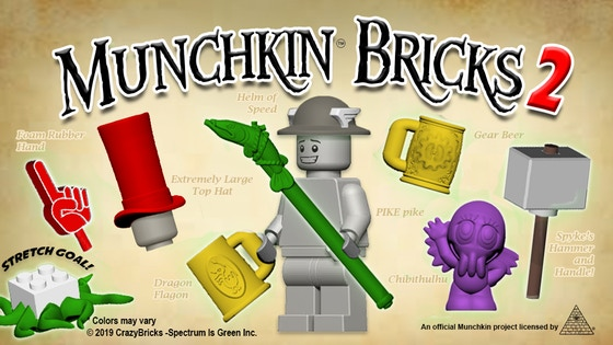 MUNCHKIN® BRICKS 2 Accessories for your miniature figures