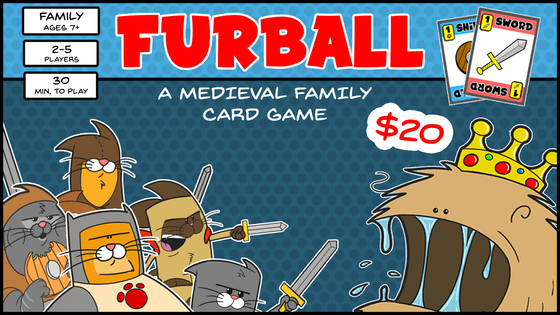 Furball: A medieval family card game