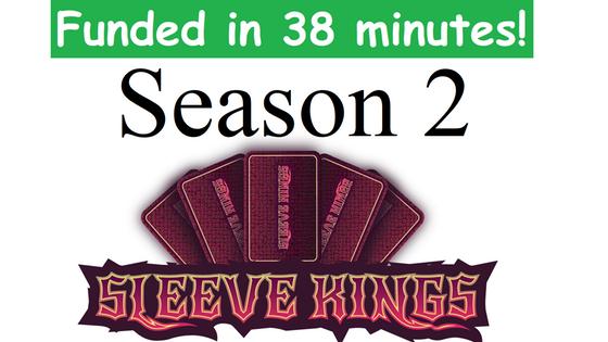 Season 2: Sleeve Kings Card Sleeves For Board Games