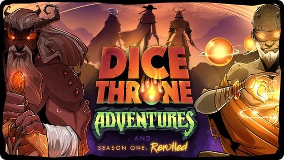 Dice Throne Adventures & Season One: Rerolled!