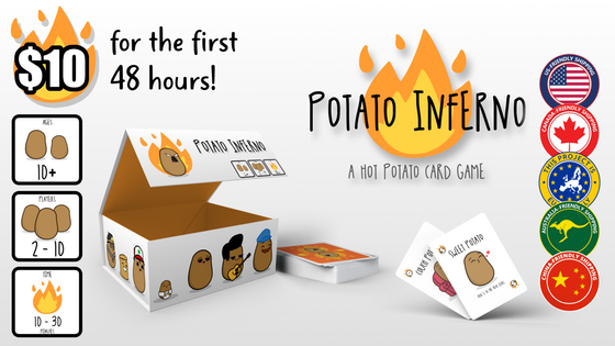 Potato Inferno! ( A Hot Potato Card Game )