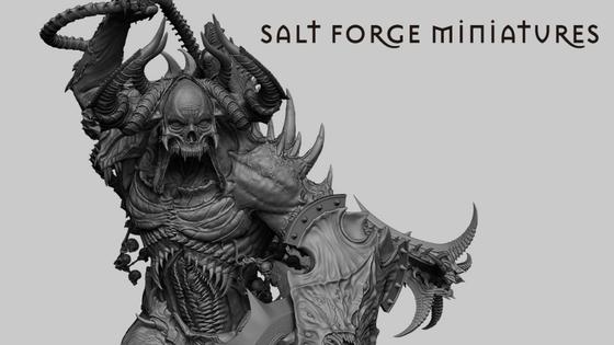 Salt Forge Miniature : Sulphureas