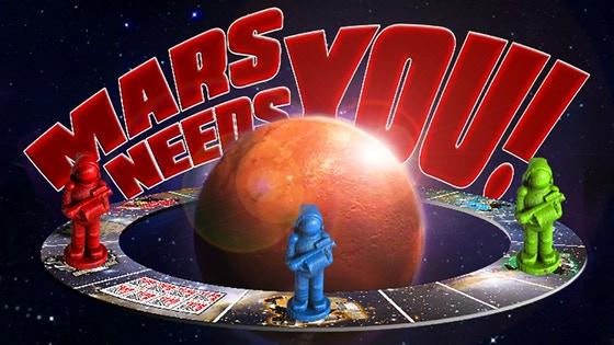 Mars Needs You! to Break Kickstarter!