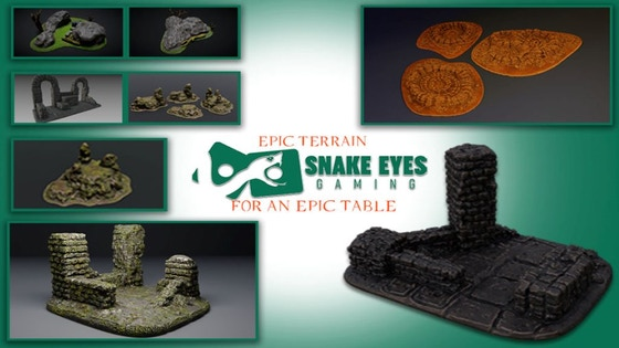 3D Printable Tabletop Terrain - The Land of Fel'haven