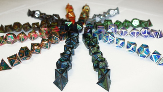 Elemental RPG Dice by Little Dragon Corp