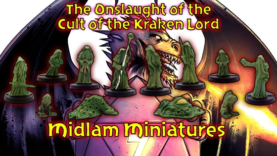 The Onslaught of the Cult of the Kraken Lord