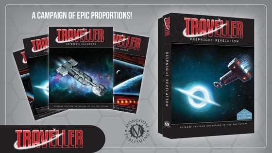 Traveller RPG: The Deepnight Revelation Campaign Box Set