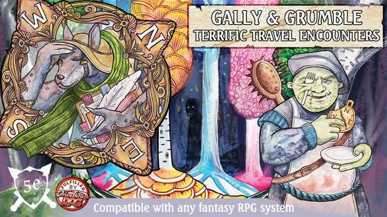 Gally & Grumble: Terrific Travel Encounters