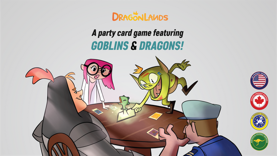 Dragonlands - The party card game for dragon people