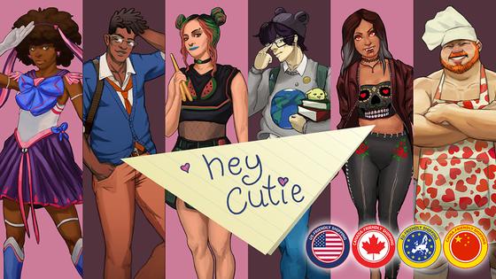 Hey Cutie : The Tabletop Dating Sim