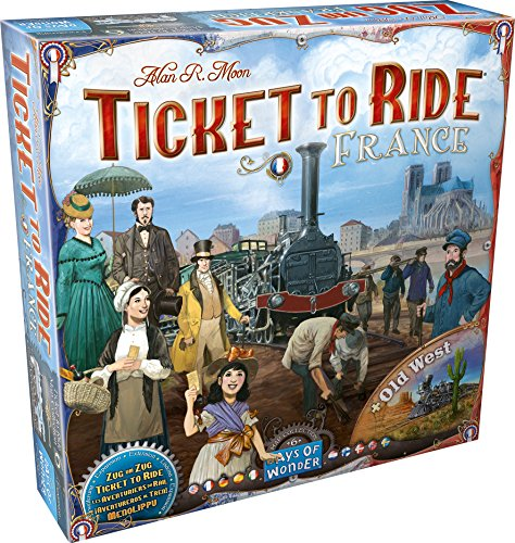 Ticket to Ride: France and Old West Map Collection 6