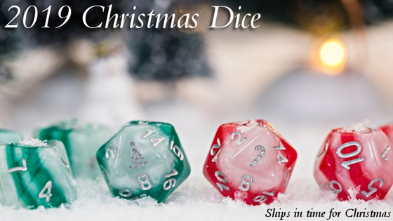 Christmas Dice 2019 - Limited Edition