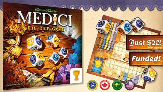 Medici: The Dice Game - Knizia's Medici Family Expands!