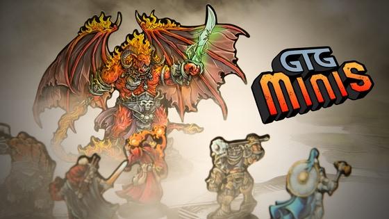GTG Minis For Tabletop RPGs
