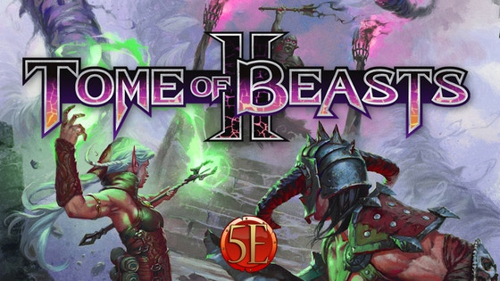 Tome of Beasts 2 for 5th Edition: 400 New Monsters