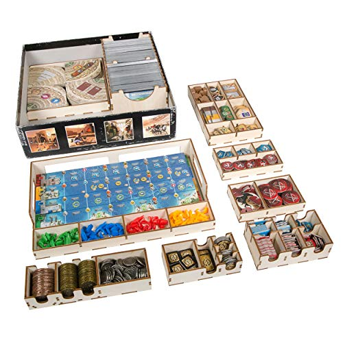 7 Wonders: Broken Token Wondrous Fleet Organizer