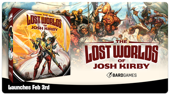 The Lost Worlds of Josh Kirby
