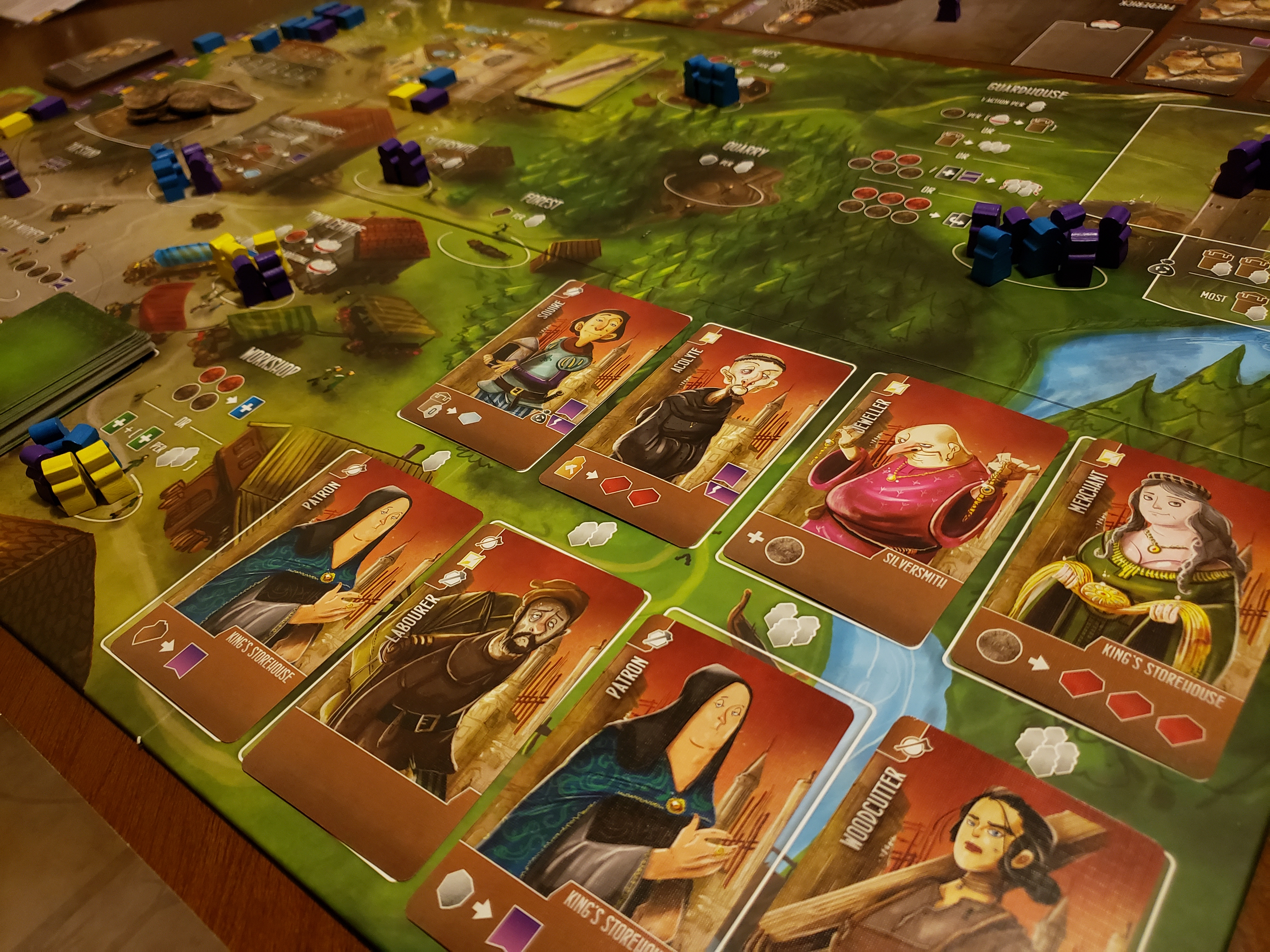 Architects of the West Kingdom Worker Placement Game