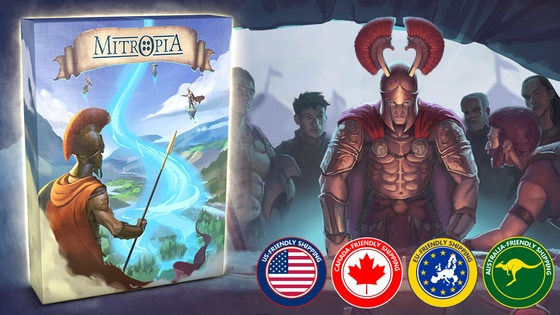 Mitropia: The Mythical Game of Surrounding