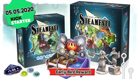 Crisis at Steamfall - Genesis