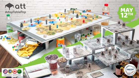 AdapTableTop, a lifted modular system for boardgame and RPGs