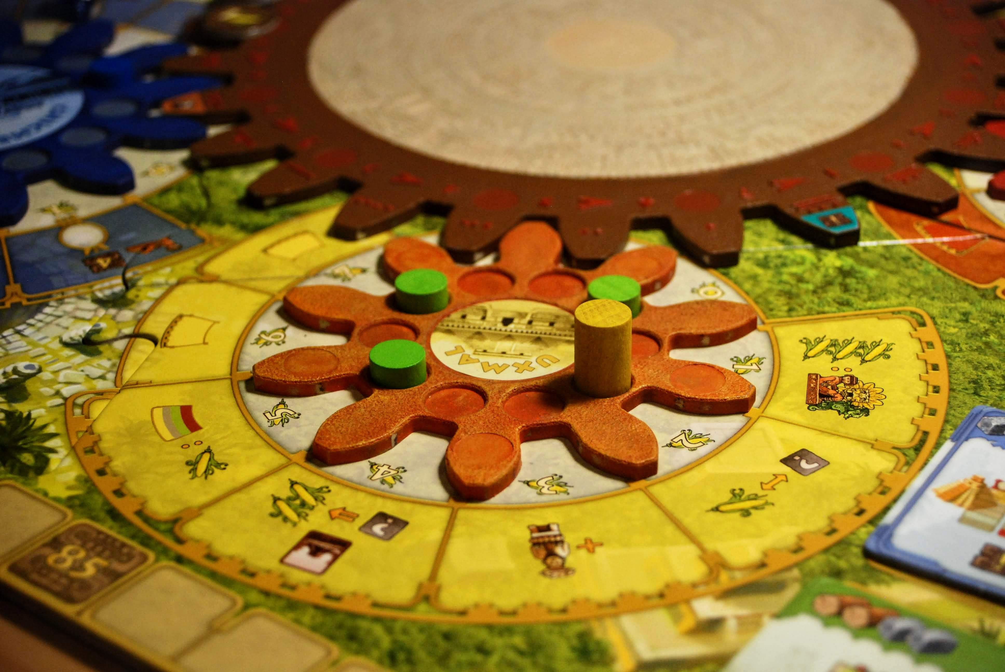 Tzolk'in The Mayan Calendar Worker Placement Board Game