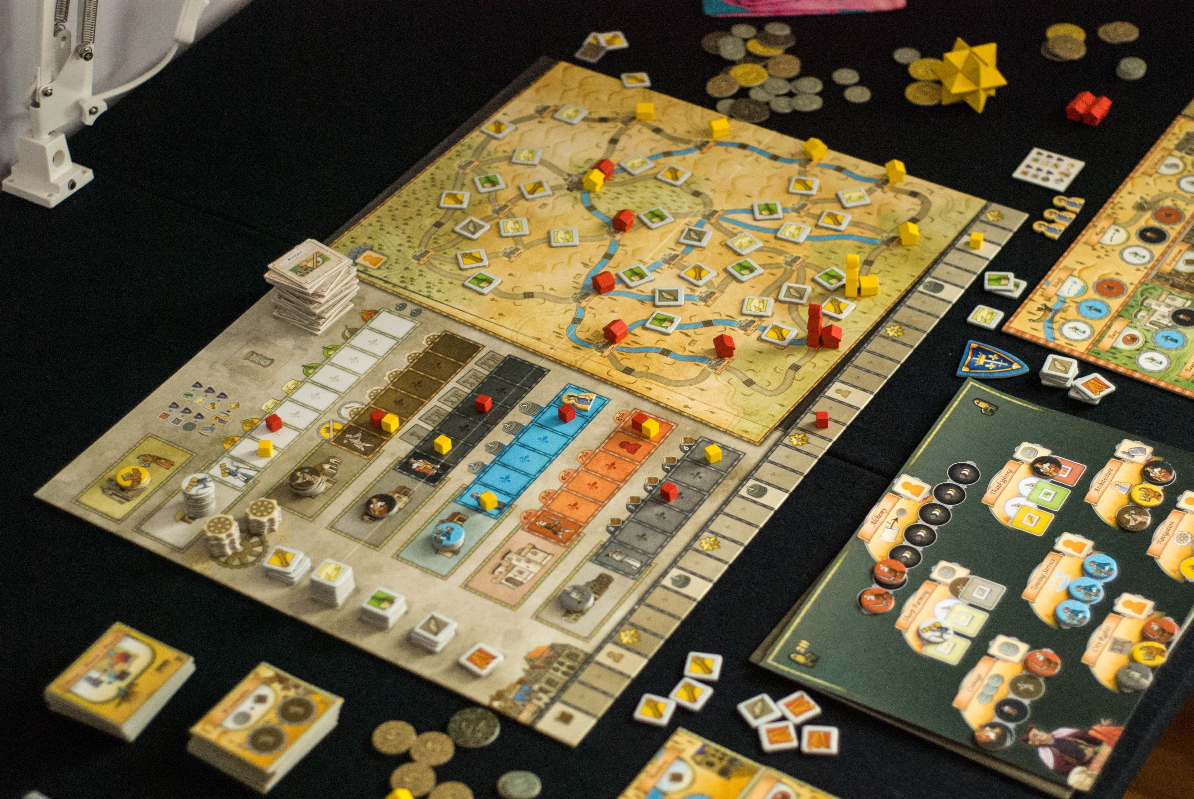 Orléans Worker Placement Board Game