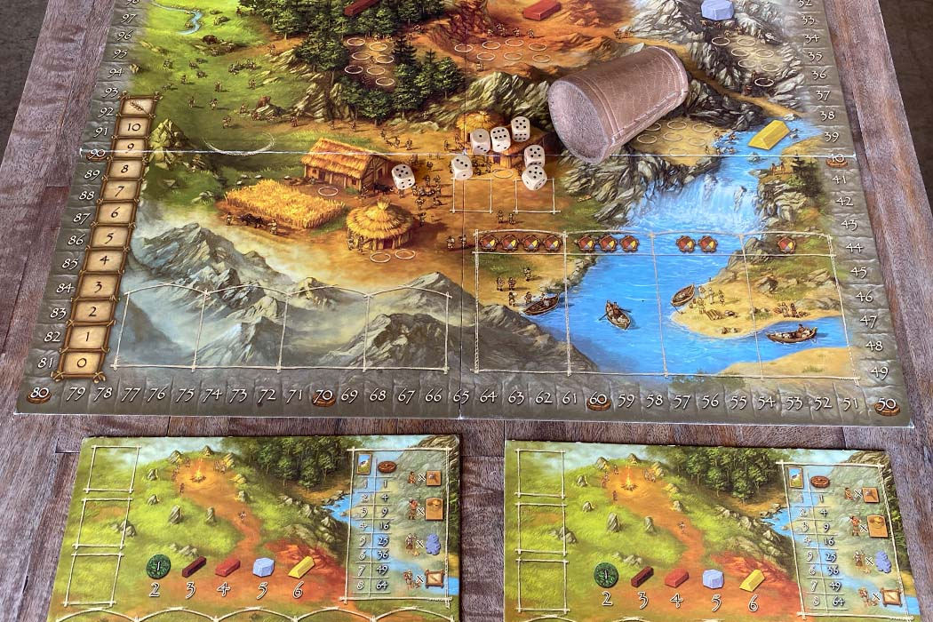 Stone Age Worker Placement Board Game