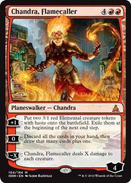 Chandra, Flamecaller