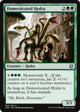 Domesticated Hydra