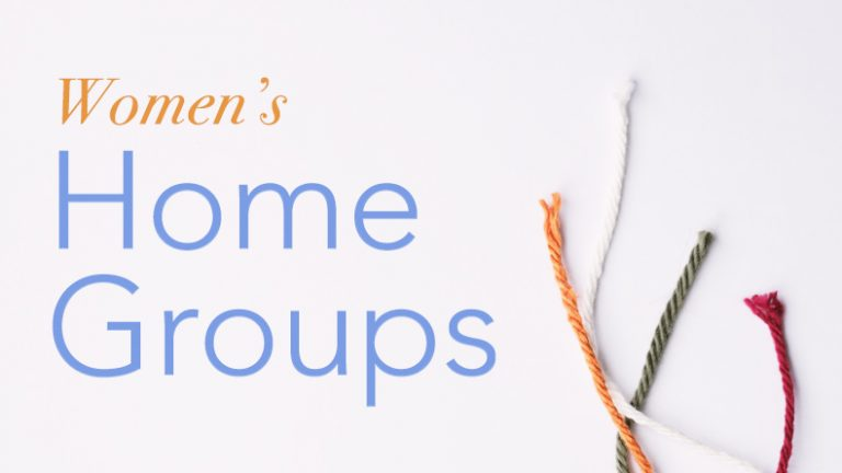 Women's Home Groups