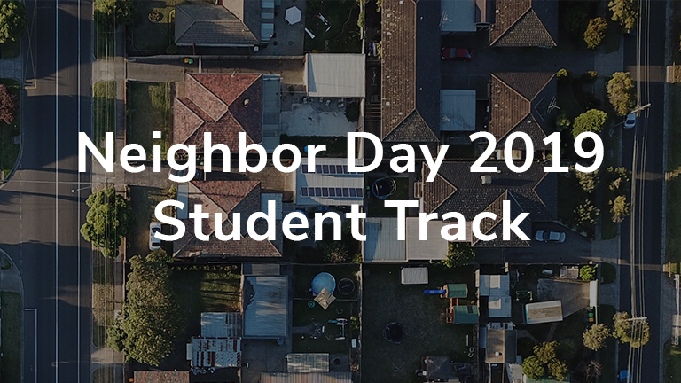 Neighbor Day- Middle School/High School Student Track