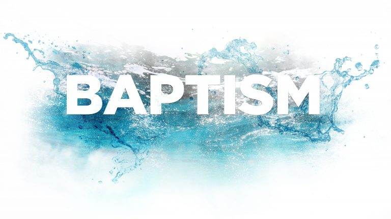 Baptism Workshop – Winter 2020
