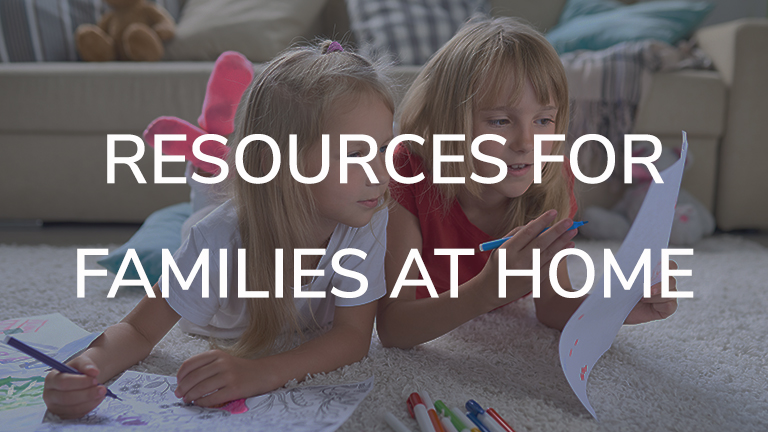 resources for families at home