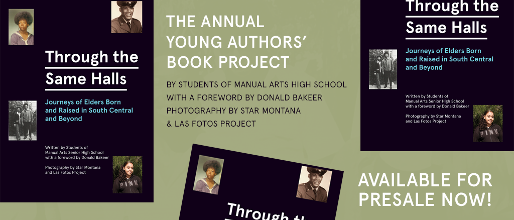 """2018 Young Authors' Book Project """"Through the Same Halls"""" Book"""