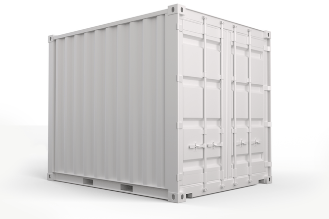 10 ft, Single-Door, Storage Container