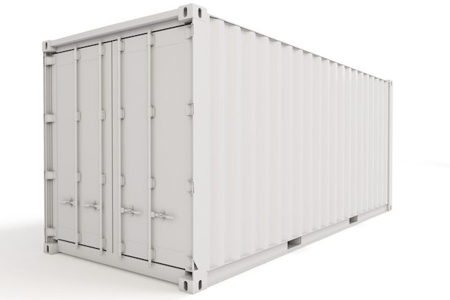 20 ft, Double-Door, Storage Container