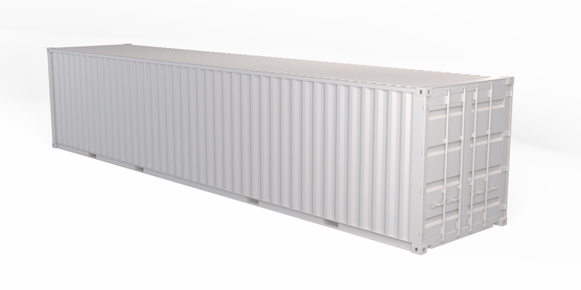 40 ft, Single-Door, Storage Container