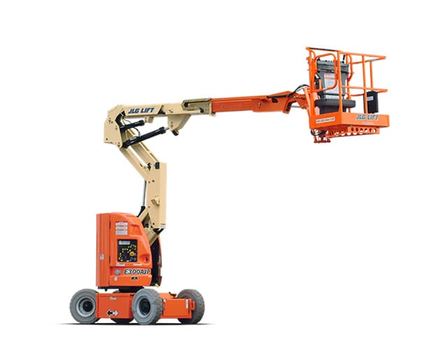 30 ft, Narrow, Electric, Articulating Boom Lift